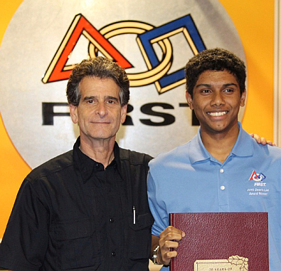Mashroor Rashid and Dean Kamen