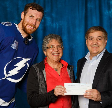 Terri Willingham honored by Tampa Bay Lightning
