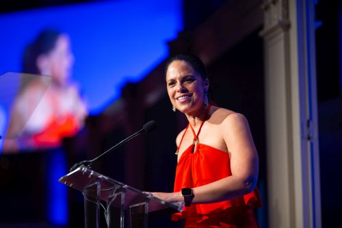 Soledad O'Brien at the FIRST Inspire Gala