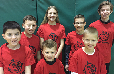 Allie's FIRST LEGO League team
