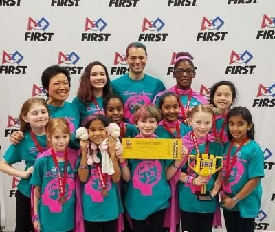 The Brainiac Maniacs earn their ticket to the FIRST LEGO League World Festival in Houston.
