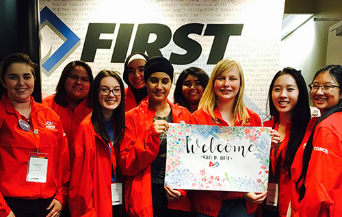FIRST Canada's Girls in STEM Student Advisory Council was created in 2017.