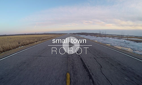 small town ROBOT trailer