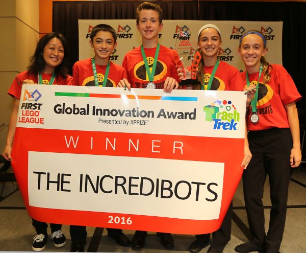 Winners - The Incredibots