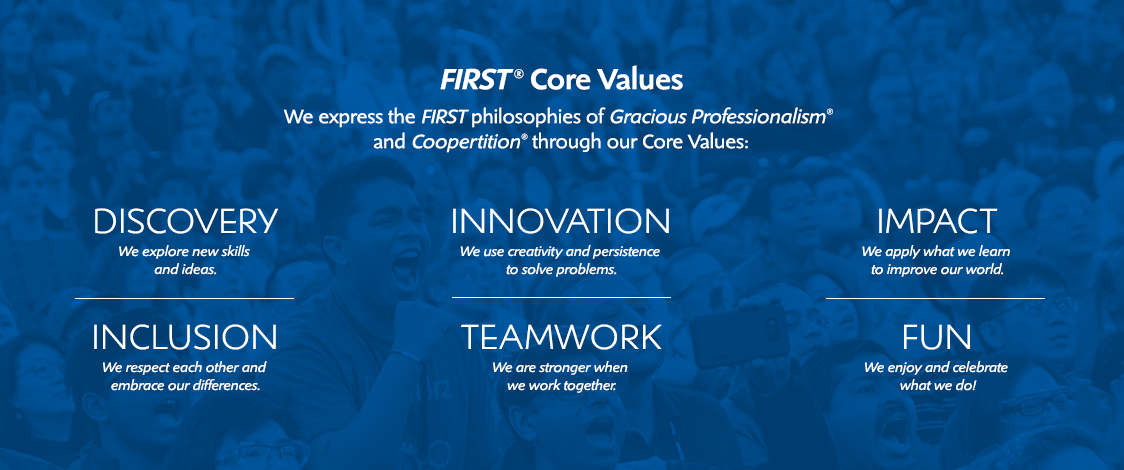 FIRST Core Values