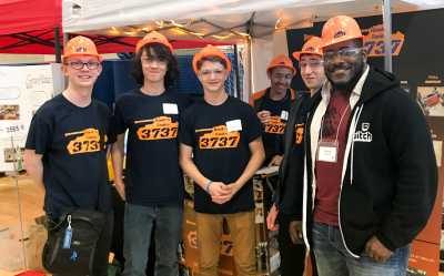 DeejayKnight with FIRST Robotics Competition Team