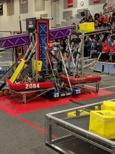 Week Zero Triple Climb FIRST Robotics Competition