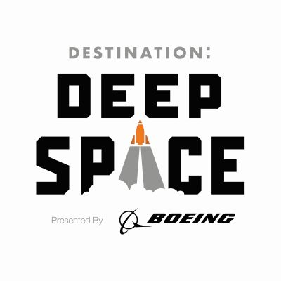 Image result for destination deep space logo