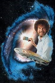 Bob Ross as an Astronaut FIRST Robotics Competition