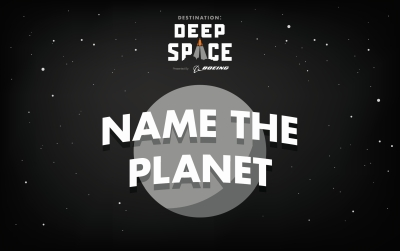 Name The Planet Logo 2019 FIRST Robotics Competition