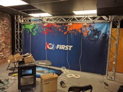 FIRST TV Studio FIRST Robotics Competition