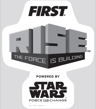FIRST RISE Sticker FIRST Robotics Competition