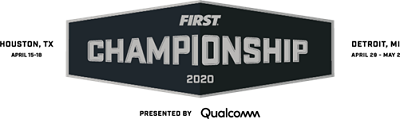 2020 FIRST Championship logo FIRST Robotics Competition