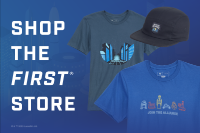 Join the Alliance Merchandise available FIRST Robotics Competition