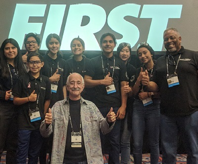 Remembering Woodie Flowers FIRST Robotics Competition