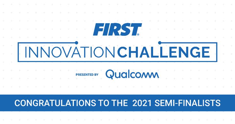 FIRST Innovation Challenge banner