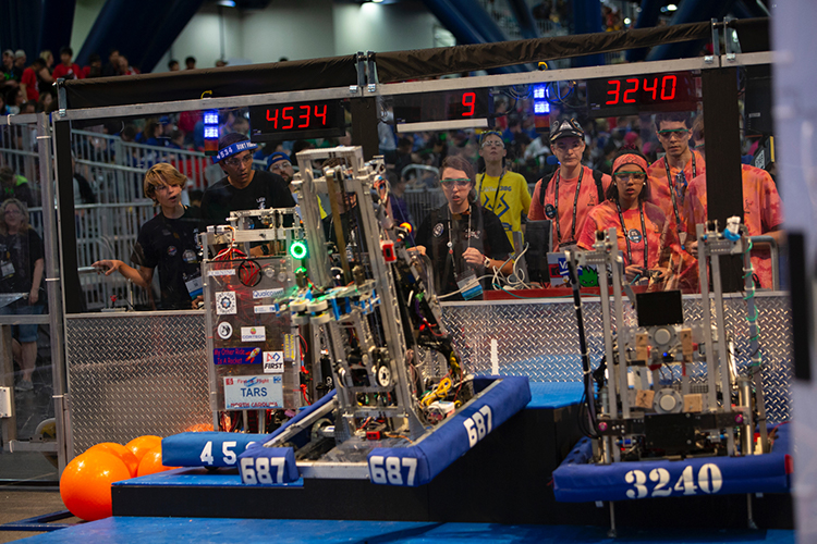 First Robotics Competition First