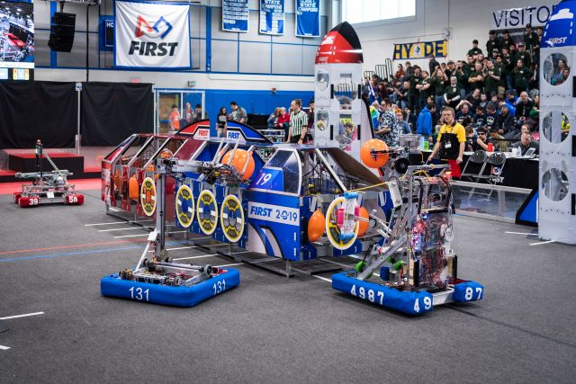 Teams compete at 2019 FIRST events