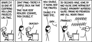 Estimating Time xkcd