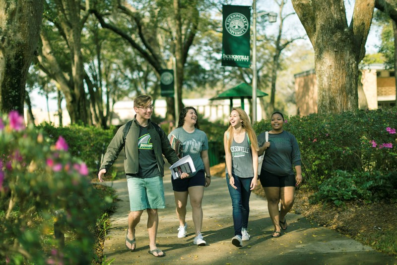 At JU, 94 percent of freshmen receive some type of scholarship.