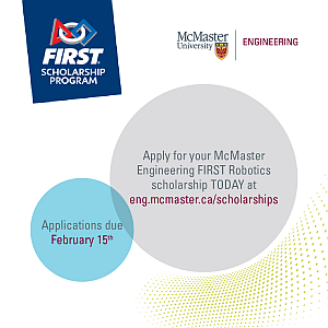 McMaster FIRST Scholarship