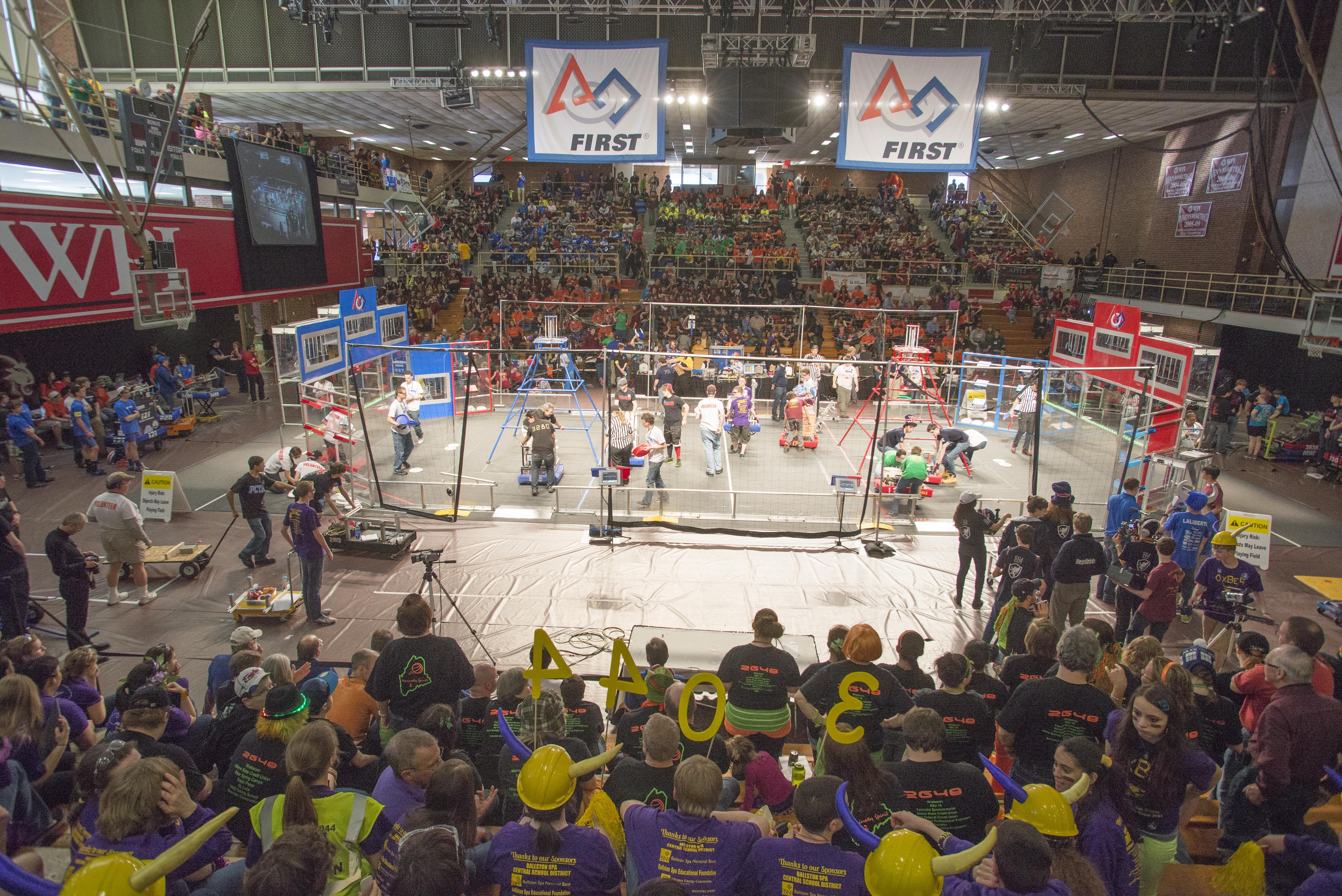WPI FIRST Robotics Competition District Event