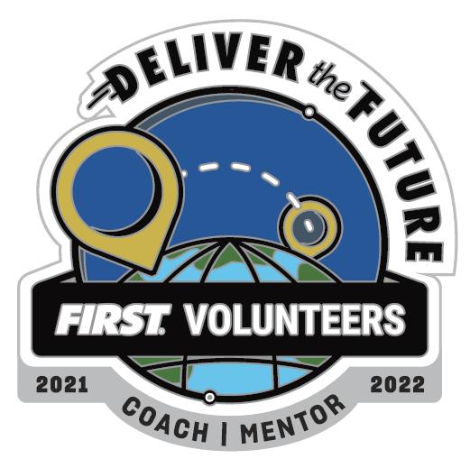 2021 - 2022 FIRST Coach Mentor pin