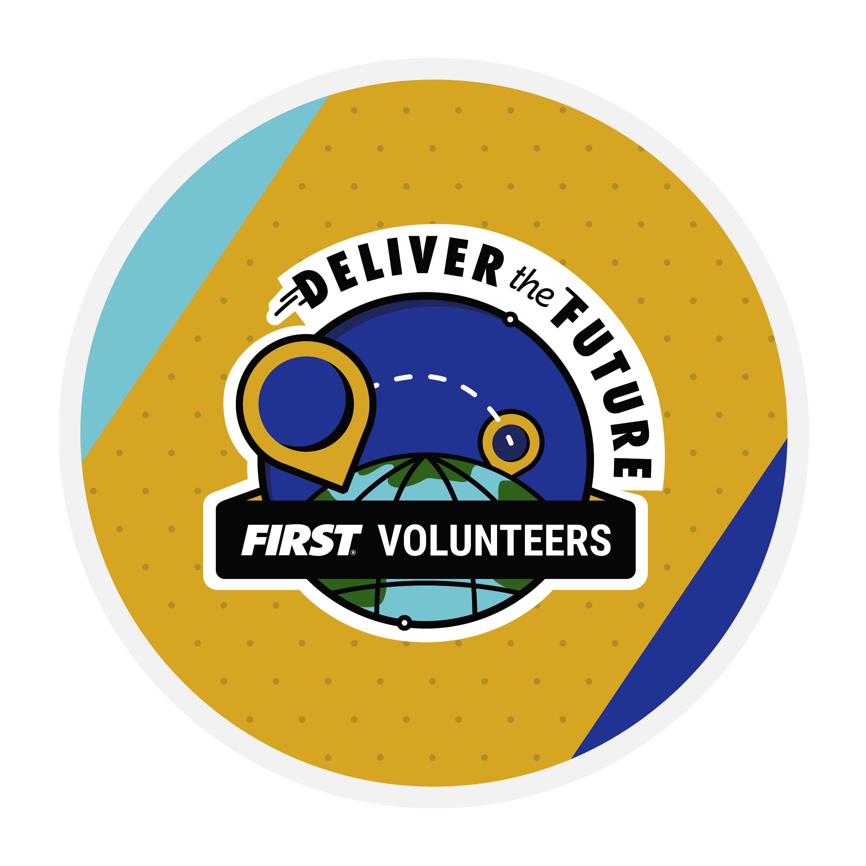Deliver the Future Volunteer Badge