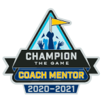 2020 - 2021 FIRST Coach Mentor pin